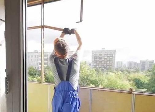 Демонтаж старого балкона в Рівному - Сезо Плюс