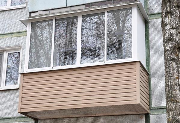 Балкон під ключ без виноса - Сезо Плюс